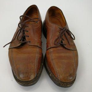 Allen Edmonds Derby Shoes Mapleton 10D Brown